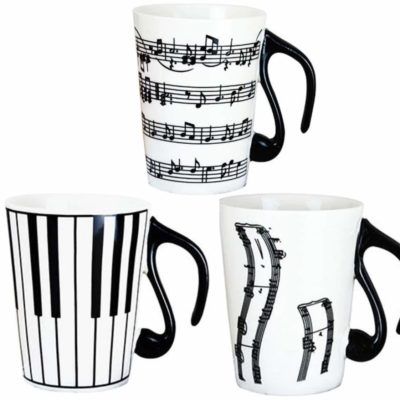 cool piano coffee mug